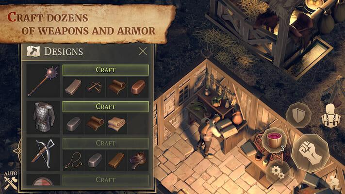 Grim Soul Dark Fantasy Survival v1.9.3 Mod APK
