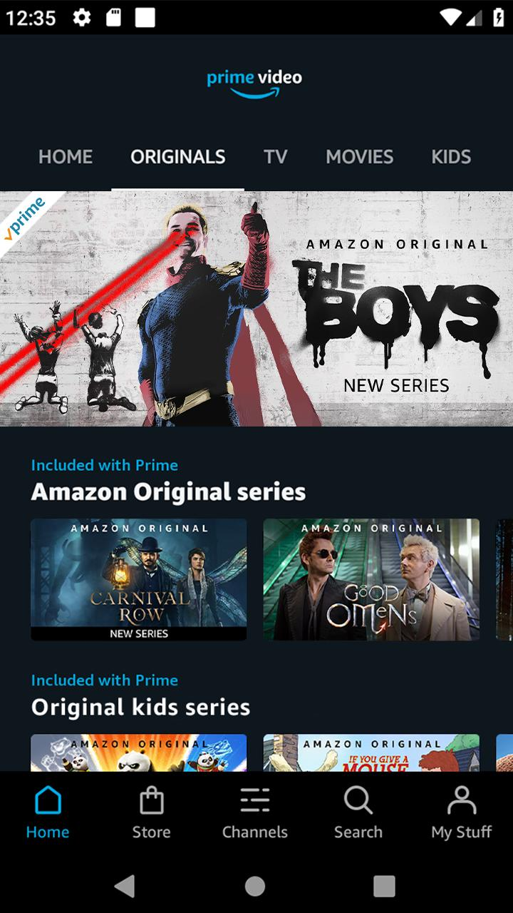Amazon Prime Video App for Android Free Download