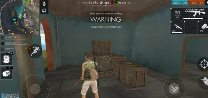 Free Fire download for PC Windows 7 32-bit